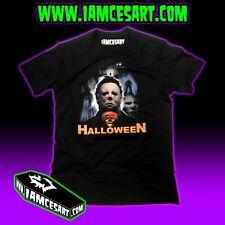 Halloween Michael Myers Men's DTG Tee 100% Cotton movie Horror iamcesart