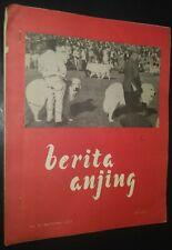 Berita Anjing Great Pyrenees Cover Alsatian German Shepherd Article Sept 1973