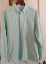 Southern Tide Long Sleeve Plaid Button Down Shirt Men's Size XL Blues Greens