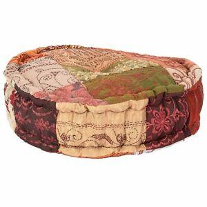Meditation Cushion Round  YOGA PILLOW 100% COTTON FILLED Home Decor Floor Puff