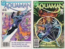 AQUAMAN 1986-2007 VF LOT (22) #1 DC comics Specials Annuals Atlantis Ostrander