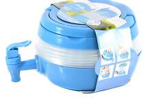 3,3L Camping Wasserkanister Faltbar Wasserbehälter Wassertank Spender