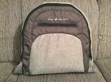 Baby Delight BD03790 - Snuggle Nest Portable Infant Sleeper, Charcoal Tweed