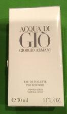 New Sealed Men's Acqua di Gio by Giorgio Armani 1oz  EDT Spray FREE SHIPPING! 1R
