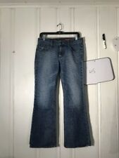 EXPRESS MIA BOOT LEG WOMENS JEANS BLUE SIZE 6S 29 INCH INSEAM