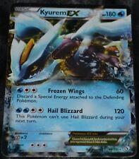 Holo Foil Kyurem EX 44/113 B&W Legendary Treasures Set Pokemon Trading Cards HP
