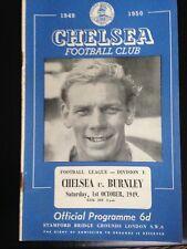 1949/0 CHELSEA V BURNLEY (DIV 1)