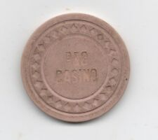 Old Pink 5 Dollar Poker Chip from the P & G Casino