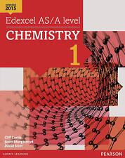 Edexcel AS/A level Chemistry Student Book 1 + ActiveBook by Jason Murgatroyd,...