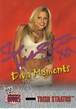 WWE WWF TRISH STRATUS SIGNED TRADING CARD PHOTO PICTURE 7