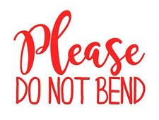 Please Do not Bend Trodat 4926 Extra Large Red Self Inking Rubber stock stamp