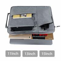 """For Laptop MacBook Air Pro 11"""" 13"""" 15"""" Waterproof Sleeve Case Cover Bag Handbag"""