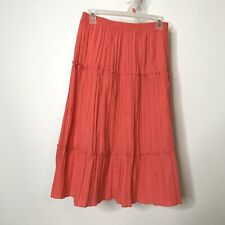 N Touch A-Line Skirt Size Medium Accordion Pleated Pink