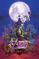 (LAMINATED) THE LEGEND OF ZELDA MAJORA'S MASK POSTER (61x91cm)  PICTURE PRINT