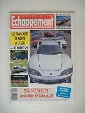 ECHAPPEMENT 299 LANCIA DELTA 2.0 HF-SAAB 900-MEGA TRACK-VENTURI CABRIOLET-ALPINE