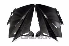 2012 - 2015 Yamaha Tmax 530 Carbon Fiber Front Side Fairings - 2x2 twill Weaves