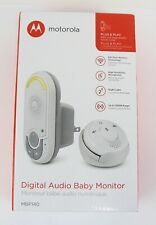 Audio Baby Monitor Wearable Two-Way Communication Night Light Motorola Mbp140