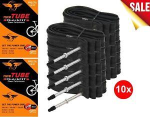 Cycling Road TT Bike Tubes 700x18/25C 80mm  - 60mm for Shimano Cleats YELLOW