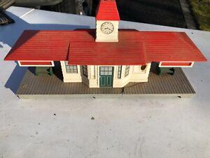 Postwar NOMA #450 Electronic Announcing Railroad Station - Parts/Restoration