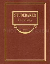 Studebaker Parts Book 1925 1926 1927 1928 1929 Standard 6 Dictator ER EU GE