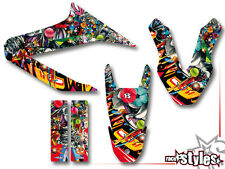 Yamaha wr 125 R/125 x full StickerBomb decoración Decals pegatinas kit 2009-2017
