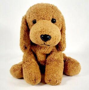 Russ Luv Pets Rusty Puppy Dog Brown Plush Bean Bag Small 5in Chamois Beanie Soft