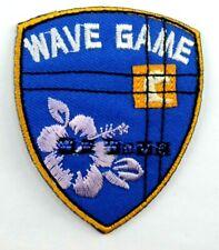 Applikation zum Aufbügeln/Aufkleben Bügelbild 3-616  Wave Game