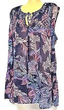 plus sz XS / 14 VIRTU TS TAKING SHAPE Martinique Top semi-sheer sexy NWT rp$110!