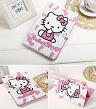 Apple iPad 9.7 case 2017 2018 generation A1822 A1823, Hello Kitty Design