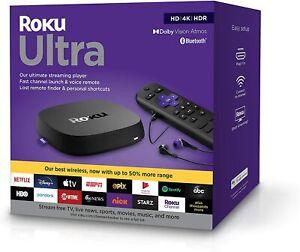 Roku Ultra  4800R (2020 Model)  HD | 4K | HDR  Streaming Media Player *4800R