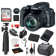 Canon PowerShot SX70 HS Digital Camera (3071C001) with Accessory Bundle package