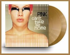 """P!nk """"can't take me home"""" limited golden coloured Vinyl 2LP + MP3 NEU 2017 Pink"""