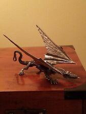 Rawcliffe Big Blue Dragon Pewter Miniature Ral Partha Dungeons Dragons A&D D&D!!