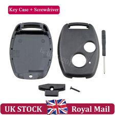 For HONDA Jazz Civic Accord CRV FRV HRV Stream 2 Button Key FOB Case Screwdriver