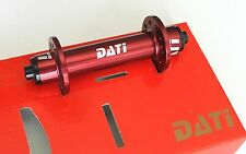 DATI R1 Front Hub ROAD BIKE ENDURO bearings 20H 67g Red vs circus Monkey