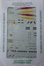 Xtradecal 1/72 X72076 RAF Tornado Update 2007 (Tornado Anniversaries) decal set