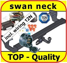 MERCEDES VITO 2003-2014 W639 Swan Neck Tow Bar with Electric Kit 7Pin