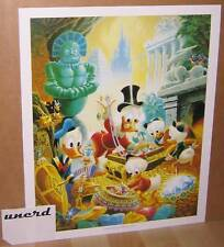 Carl Barks Kunstdruck: Wanderers of Wonderlands - Scrooge McDuck Art Print