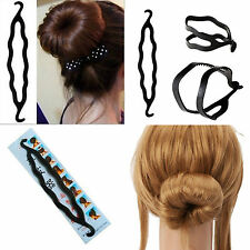 Haardreher Haarroller Twister Frisurenhilfe Haarknoten Topsy Tail Dutt Haardutt