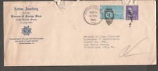 1946 special delivery cover VFW Harrisburg to Historian VFW Philadelphia