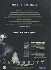Alternity Science Fiction Roleplaying Game 1998 Magazine Advert #4326