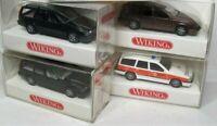 Wiking 1:87 Volvo 850 Kombi OVP zum auswählen 264 - 071 03 Notarzt - Racing