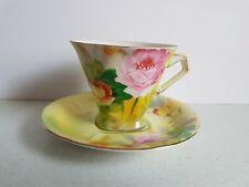 NC Japan Tea Cup and Saucer Set  China Vintage