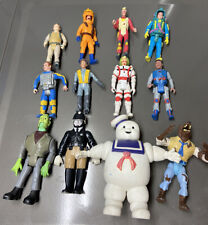 Kenner The Real Ghostbusters Figure Lot X-cop Stay Puft Wolfman Ray Peter Egon