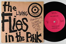 Punk EP - Living Flies - In The Pink - Private - VG+ mp3 - 1st press!