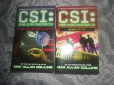 2 pb's : Crime Scene Investigation by Max Allan Collins Sin City+