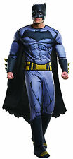 Deluxe Batman Adult Costume Batman v Superman: Dawn of Justice Size Standard