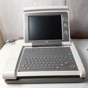 ge mac 5000 12 lead ekg machine for parts or repair
