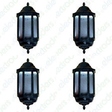 4 x ASD HL/BK060C Half Lanterns with Photocell Dusk to Dawn 60 Watt BC (Black)
