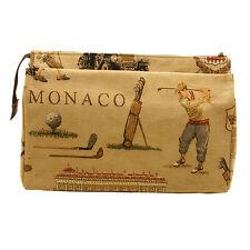 Belly materiales-Grandes Monaco Golf Tapiz Estilo Clásico Bolsa De Lavado